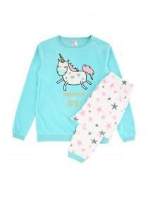 Girls Light Blue Pyjamas