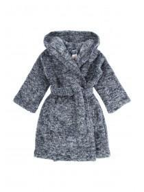 Boys Dark Blue Fluffy Robe