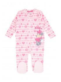 Baby Girls Minnie Mouse Sleepsuit