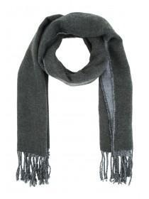 Mens Charcoal Double Sided Scarf