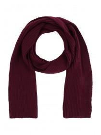 Mens Purple Rib Scarf