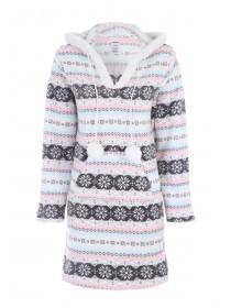 Womens Pastel Fleece Nightdress