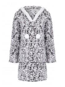 Womens Grey Fleece Nightdress