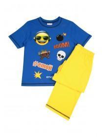 Older Boys Smiley Face #Emoji Pyjamas Set