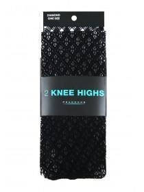 Womens 2PK Knee Highs