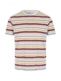 Mens Red Striped T-Shirt