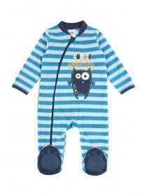 Baby Boy Cuddle Monster Sleepsuit