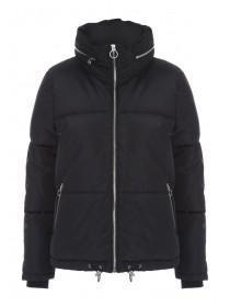 Womens Black Padded Coat