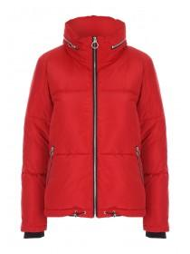 Womens Red Padded Coat