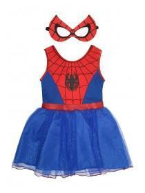 Kids Spider Girl Dress Up Set
