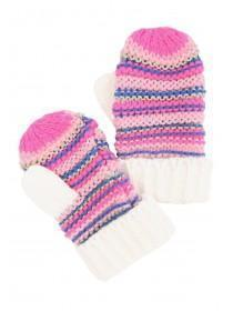 Younger Girls Pink Mittens