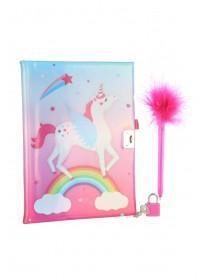 Girls Unicorn Notebook