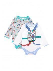Baby Boys 2PK Rocket Bodysuits