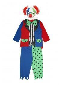 Kids Clown Dress Up Set