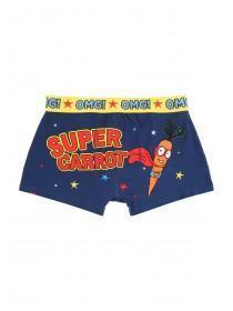 Mens Blue Novelty Boxers