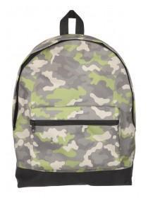 Older Boys Camouflage Backpack