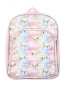 Younger Girls Pink Unicorn Backpack