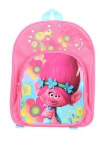Younger Girls Pink Trolls Backpack