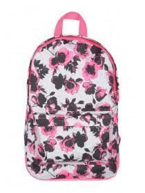 Older Girls Pink Floral Backpack