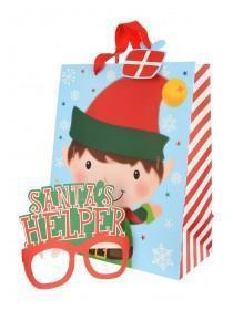 Large Elf Gift Bag