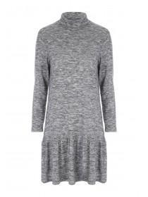 Womens Cosy Peplum Dress