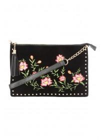 Womens Across Body Embroidery Bag