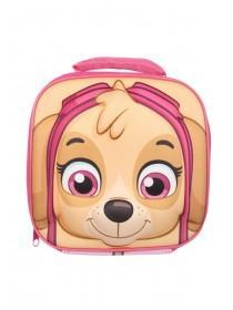 Girls Pink Paw Patrol Moulded Lunch bag