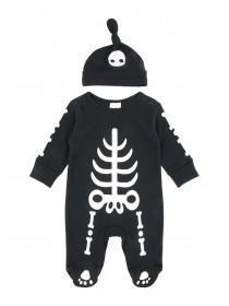 Baby Skeleton Sleepsuit