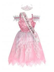 Kids Prom Queen Dress Up Costume