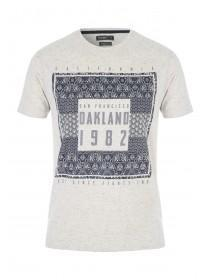 Mens Natural White Oakland T-Shirt