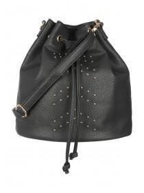 Womens Black Slouch Bag