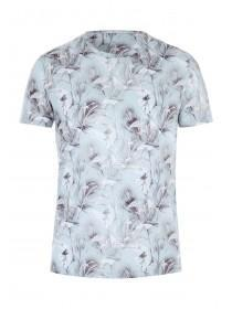 Mens Green Leaf Romance Sublimation T-Shirt