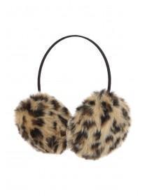 Womens Leopard Print Earmuffs