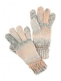 Womens Pink Space Dye Gloves