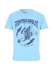 Mens Blue Fighting Eagles T-Shirt