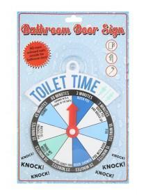 Bathroom Spinner Sign