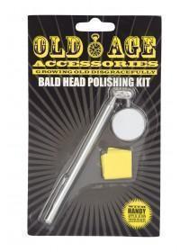 Old Age Bald Head Polisher