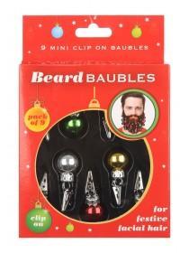 Novelty Beard Baubles