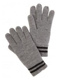 Mens Grey Thinsulate Gloves