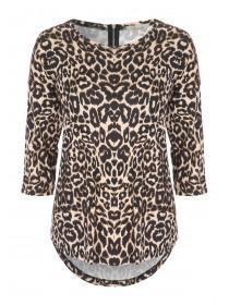 Womens Leopard Print Top