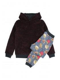 Older Boys Fleece Pyjama Set