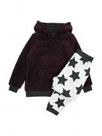 Older Boys Star Print Pyjama Set