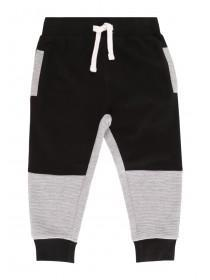 Younger Boys Grey Ripple Joggers