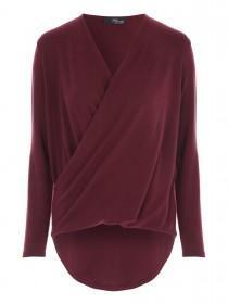 Jane Norman Berry Wrap Front Jumper