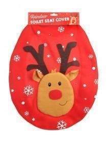 Reindeer Toilet Seat Cover
