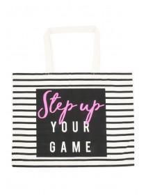 Womens Cream Shopper Bag