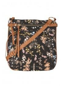 Womens Floral Canvas Bag