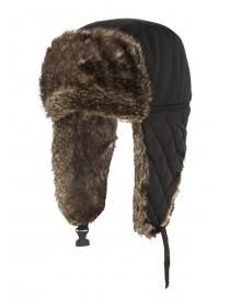 Mens Quilted Trapper Hat