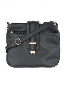 Womens Black Cross Body Bag