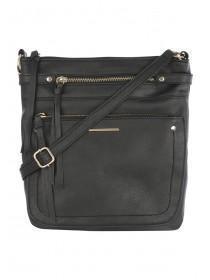 Womens Black Blondie Cross Body Bag